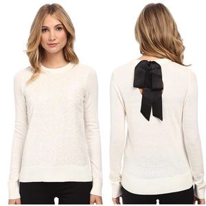 Kate Spade New York Fluffy Wool Sequin Sweater